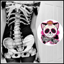 Playeras Leggins Vestido Esqueleto Calavera Moda Pastel Goth
