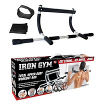 Irongym Barra Multifuncional 5 En 1 Biceps Ejercita Brazo
