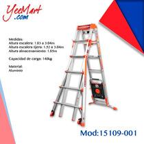 Escalera De Aluminio Multiusos Modelo Selec Step 15109-001