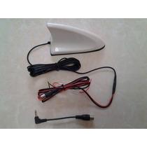 Antena Tiburón Para Tv Digital Señal Amplificada Vhf Uhf