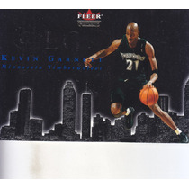 2001-02 Fleer Genuine At Large Kevin Garnett Twolves