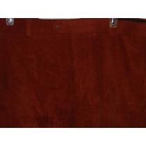 Pantalón Stafford Sport Algodón Tipo Pana Nuevo T 40 Slim