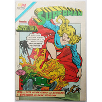 Superman # 1325 Superchica 1981 Aguila Tlacua03