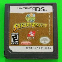 Go Diego Go Safari Rescue Para Nintendo Ds