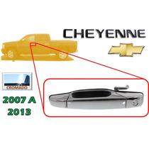 07-13 Cheyenne Manija Exterior Cromada Delantera Izquierda