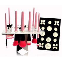 Secador Y Exhibidor De Brochas De Maquillaje Make Up For You