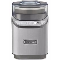 Maquina Para Hacer Helados Cuisinart Ice-70 Cromada