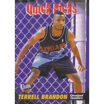 1997-98 Fleer Ultra Quick Picks Terrell Brandon Cavaliers