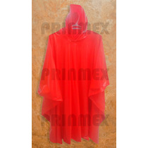Impermeable Tipo Poncho Uso Personal Pvc Resistente