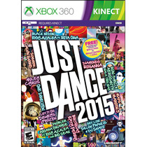 Just Dance 2015 Kinect Xbox 360 Nuevo Blakhelmet E