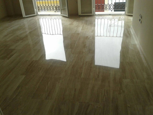 Piso de marmol travertino clasico 40x60 350 00 m2 for Marmol travertino precio m2