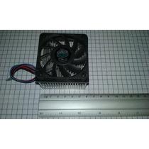 Ventilador Con Disipador De Calor De Aluminio, 12v Dc