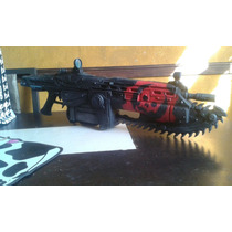 Gears Of War Lancer (red Skull)
