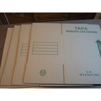 4 Cajas Para Archivo 40 X 30 X 30 Cm Para Guardar Carpetas