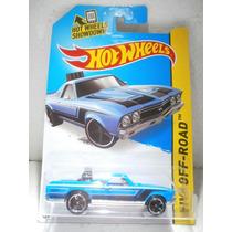 Hot Wheels Camioneta 68 El Camino Azul 122/250 2014
