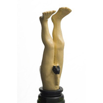 Tapón De La Botella - 11.5cm Cake Hombre Desnudo Novelty Wi