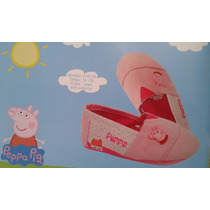 Zapato Alpargatas Peppa Pig