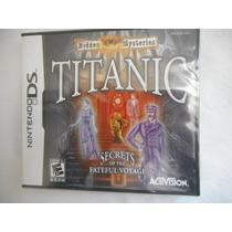 Juego Nintendo Ds Titanic! Secretos Del Titanic