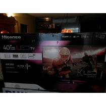 Pantalla Tv Hisense 40 Pulgadas Fhd Hdmi Ultra Slim Remate.!