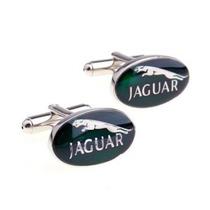Mancuernillas Jaguar Logo Automovil Camisa Traje Gemelos