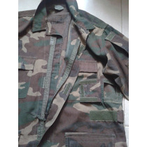 Camisola Militar Original Us Army Woodland Navy Seals