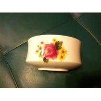 Dulcero De Flores Ingles De Porcelana