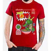 cccf22f1dd47f Playera Camiseta Dragon Ball Pops Cereal Goku 100% Calidad en venta ...