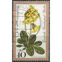 1766 Alemania Berlín Scott #b554 Flor 40+20f Usado 1978