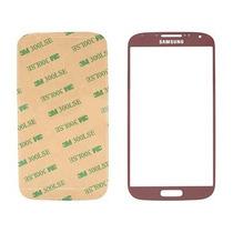 Cristal Vidrio Frontal Genérico Rojo Samsung Galaxy S4 + 3m