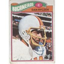 1977 Topps Mexican Dan Ryczek Bucaneros De Tampa Bay