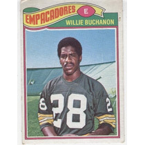 1977 Topps Mexican Willie Buchanon Empacadores De Green Bay