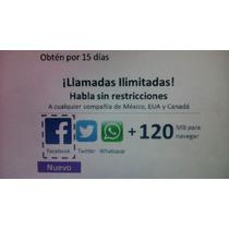 Chip Movistar Llamadas Y Mensajes Ilimitados