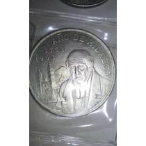 Mexico 1953 $5 Año De Hidalgo Plata