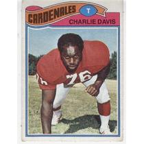 1977 Topps Mexican Charlie Davis Cardenales De San Luis