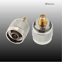 Conector Cable Coaxial N Macho Plug To Sma N Hermbra Jack