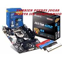 Kit De Actualizacion Para Pc Placa Madre Ddr3 4gb Procesador