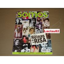 Las Reinas De La Risa Revista Somos Febrero 2002