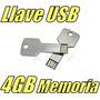 Llave Memoria Usb 4gb Aluminio Pulsera Usb / Gratis Estuche