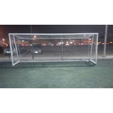 Red Perimetral Para Soccer Futbol Cuadros 15cm