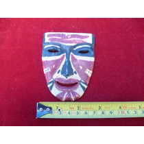 Mascara De Madera.