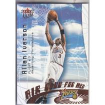 2000-01 Fleer Ultra Air Club For Men Allen Iverson Sixers