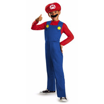Tm Disfraz Disguise Nintendo Super Mario Brothers Mario