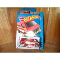 Super Van Hw Fire Chief No. 1 Hw Jefe De Bomberos Hot Wheels