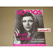 Gloria Marin Un Rostro Inolvidable Revista Somos 2000