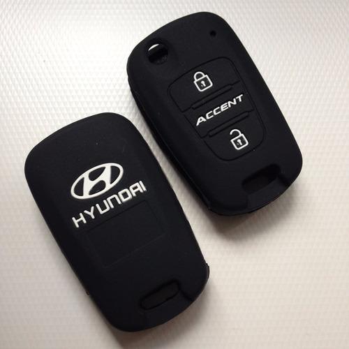 Funda De Silicon Llave Hyundai Accent Elantra Sonata Attitud Foto 4