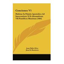 Conciones V1: Habitae In Palatio, Juan Pablo Oliva