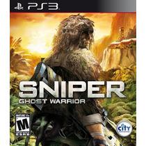 Sniper Ghost Warrior Ps3 Nuevo Citygame