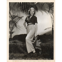 Foto Original Shirley Ross In Paramount Pictures Productions