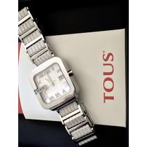 Reloj Tous Oto Mens White Bracelet Stainless Steel Watch
