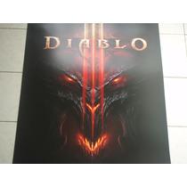 Diablo 3 Poster Original Blizzcon 2011 Exclusivo Diablo.